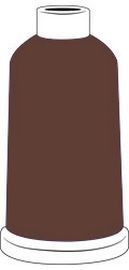 Madeira Classic Rayon #40 - 1100YD Mini Snap Cones - Color - 1145 - Coffee Bean