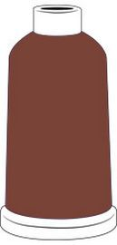 Madeira Classic Rayon #40 - 1100YD Mini Snap Cones - Color - 1158 - Chestnut