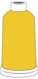 Madeira Classic Rayon #40 - 1100YD Mini Snap Cones - Color - 1223 - Lemon Tart
