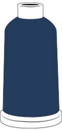 Madeira Classic Rayon #40 - 1100YD Mini Snap Cones - Color - 1242 - Dark Denim