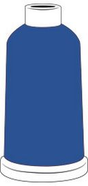Madeira Classic Rayon #40 - 1100YD Mini Snap Cones - Color - 1266 - Regal Blue