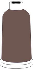 Madeira Classic Rayon #40 - 1100YD Mini Snap Cones - Color - 1336 - Saddle Brown