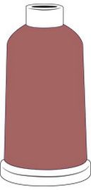 Madeira Classic Rayon #40 - 1100YD Mini Snap Cones - Color - 1341 - Rose Gold - Discontinued