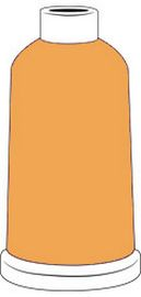 Madeira Classic Rayon #40 - 1100YD Mini Snap Cones - Color - 1372 - Pumpkin Spice