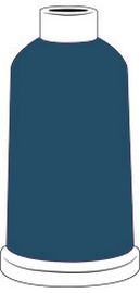Madeira Classic Rayon #40 - 1100YD Mini Snap Cones - Color - 1376 - Independence Blue