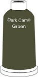 Madeira Classic Rayon #40 - 1100YD Mini Snap Cones - Color 1406 - Dark Camo Green