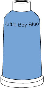 Madeira Classic Rayon #40 - 1100YD Mini Snap Cones - Color 1432 - Little Boy Blue