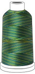 Madeira Classic Rayon #40 - Thread - 1100YD Mini Snap Cones - Multi Color 2146