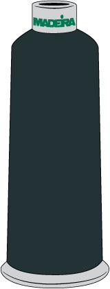Madeira Polyneon 40 5500yd Cn 1574 Dark Slate Blue