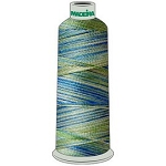Madeira Polyneon #40 -  Multi Color Thread - 5000M Cone
