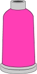 Madeira Polyneon #40  1100YD Mini Snap Cones - 1597 - Pink