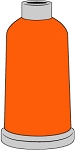 Madeira Polyneon #40  1100YD Mini Snap Cones - 1598 - Orange