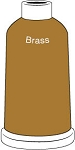 Madeira Classic Rayon #40 - 1100YD Mini Snap Cones - Color 1491 - Brass
