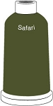 Madeira Classic Rayon #40 - 1100YD Mini Snap Cones - Color 1495 - Safari