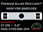 Premium Allied GridLock Brother (PR Series) Hoop 2.8