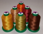 Isacord Fall Colors Kit, 5,500yds, 6 colors