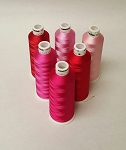 Madeira Rayon Valentines Colors - 5 -500 yds Spool - 6 Colors Kit