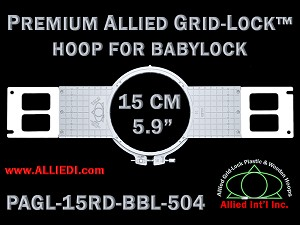 "Premium Allied GridLock Brother (PR Series) Hoop 5.9"" Round"