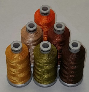 Madeira Fall Colors - 1,100 yds Spool - 6 colors