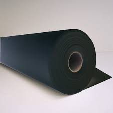 "H&V Stitch Backers, 9925BL, 2.5Oz BLACK Premium Cut Away Backing, 57"" x 150yds Roll"