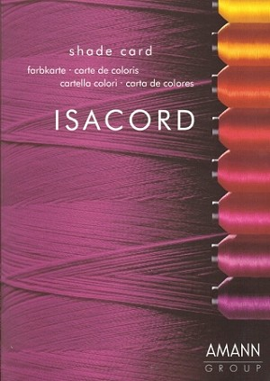 Isacord Color Card 390 Colors