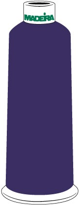Madeira Classic Rayon #40 - 5500YD/CN - Color 1412 - Violet