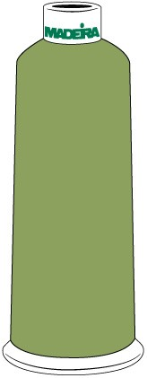 Madeira Classic Rayon #40 - 5500YD/CN - Color 1451 - Celery