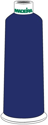Madeira Classic Rayon #40 - 5500YD/CN - Color 1466 - Sailor Blue