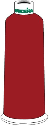 Madeira Classic Rayon #40 - 5500YD/CN - Color 1481 - Cherry Pie