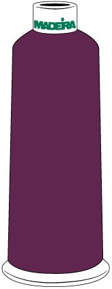 Madeira Classic Rayon #40 - 5500YD/CN - Color 1488 - Dark Magenta