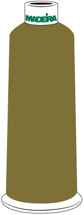 Madeira Classic Rayon #40 - 5500YD/CN - Color 1494 - Olive Green